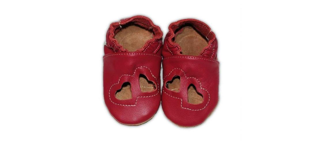 5f1e59066f13d Sandálky Ružové srdiečka kožené capačky Fiorino | Moodin Ideas